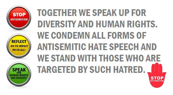 No Hate, No Violence acts in solidarity with the No Hate Speech Movement