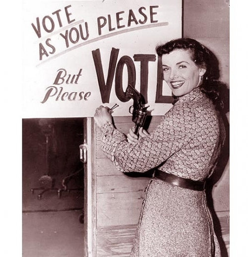 No Man Or Woman Tells Me How To Vote!