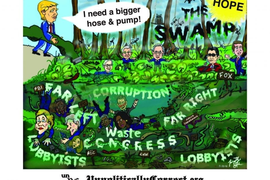 We Can't Let the Swamp Destroy Our Nation