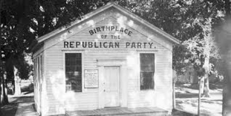 Real Moments in History Founding of the Republican Party