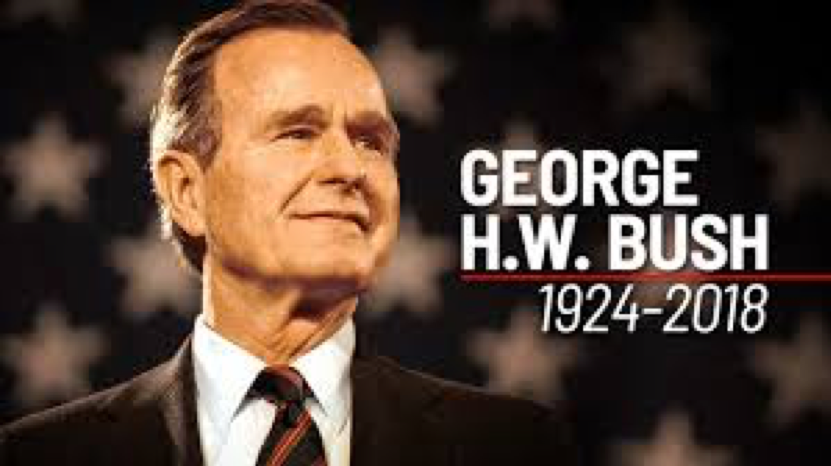 In remembrance of President George Herbert Walker Bush