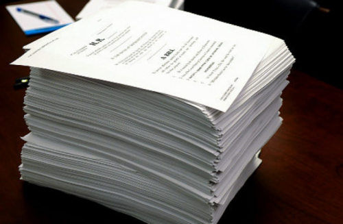 Congressional Bills are way too large and way too expensive when only 4% get approved