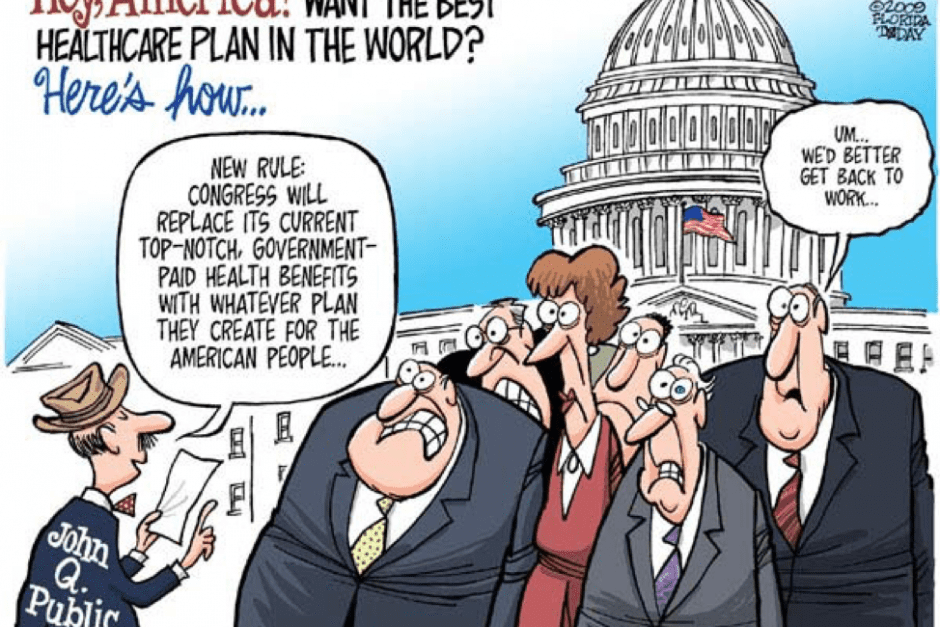 Senators & Lobbyists VS. The American People