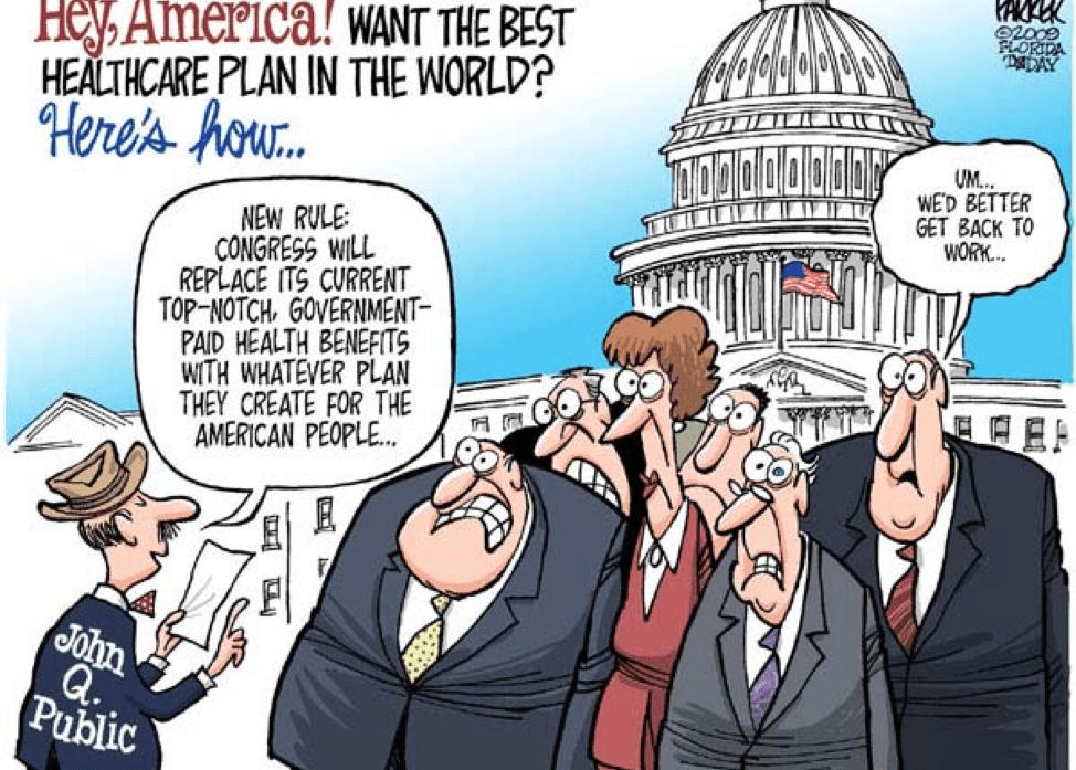 Senators & Lobbyists VS. The American People