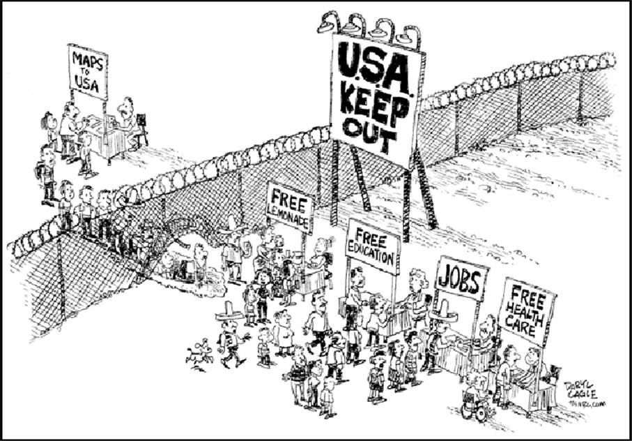 Total Immigration Reform That's A Win-Win For All