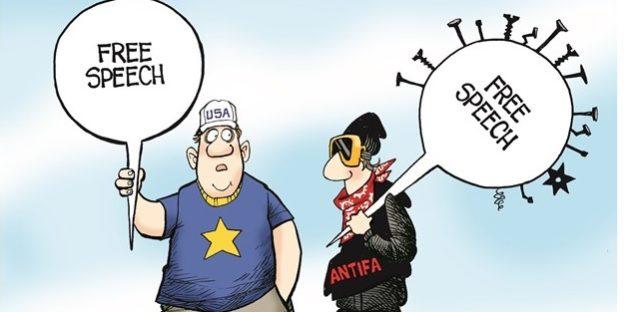 Video Alert: Patriot Prayer vs. ANTIFA