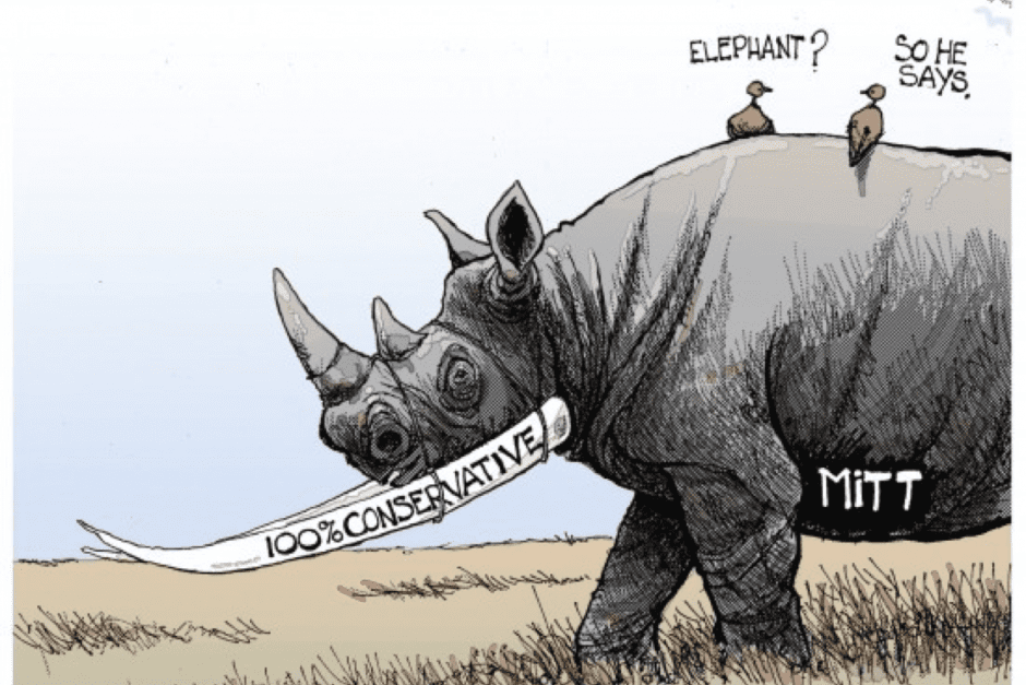 IS ROMNEY A RHINO?