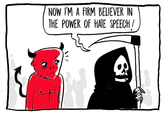 Surprising Data On How Different Races View Hate Speech –  Why Do You Think This Is?